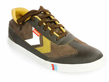 Vedano Brown Casual Suede Leather Sneakers CASA016