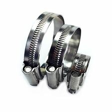 Stainless Steel and Zinc Plated JCS Hi-Grip Hose Clips Tubing Clamp Clip