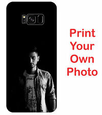 Samsung Galaxy S8 & S8 Plus Hard Matte Back Cover Print Your Own Custom Case