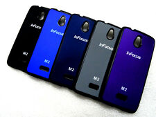 ★ IMPORTED LOGO SERIES SOFT+HARD BACK CASE COVER FOR ★ INFOCUS M2 M 2 ★