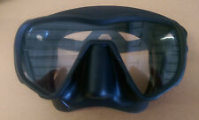 Brand New Boxed Beaver Phaser Mask Black Frameless Scuba Diving Snorkelling
