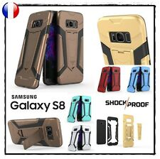 Etui Coque housse Antichocs Shockproof Kickstand Case cover Samsung Galaxy S8