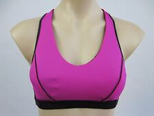 Marika Magic Ladies High Impact Wirefree Sports Bra size Small Colour Pink Black