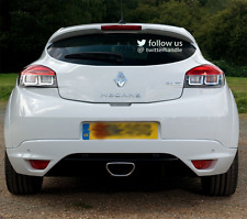 Follow us on Twitter Personalised Twitter decal / sticker