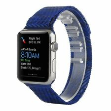Camouflage Milanese Loop Stainless Steel Strap Band for Apple Watch 42mm