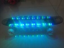 Stylish LED Deck Skateboard With Light Up Wheels- CE Certified Christmas Gift