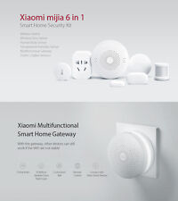Xiaomi mijia 6 in 1 Smart Home Security Kit Gateway 2 WiFi Switch Zigbee Sensor