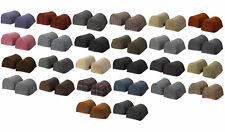 Harris Tweed Standard Round Arm Caps 100% Pure New Wool Furniture Antimacassar