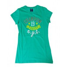 Champion T_Shirt donna GRAPHIC LAB NBU (Verde)