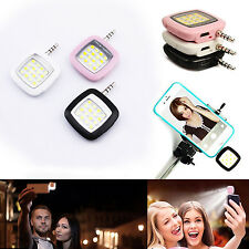 Flash Selfie Luz Led Para Smartphone Movil Tablet Foto Video Light Android - IOS
