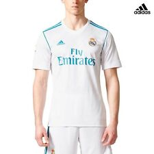 ADIDAS REAL HOME JSY CAMISETA OFICIAL REAL MADRID PRIMERA 2017/18 BLANCO B31109