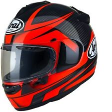 ARAI CHASER CHASER-X TOUGH RED MOTORBIKE MOTORCYCLE HELMET
