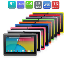 """9"""" Android4.4 KitKat Quad Core 8GB Pad Dual Camera Wifi Tablet PC US Pink"""