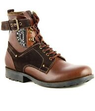 Rado Brand Mens Brown Hi Ankle Boots Casual Shoes 0902-