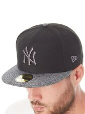 New Era Black-Grey New York Yankees 59Fifty Fitted Cap