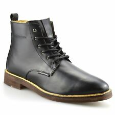 Mens Ben Sherman Aine Leather Smart Chelsea Dealer Work Ankle Boots Shoes Size