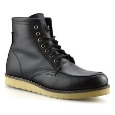 Mens Ben Sherman Leather Walking Hiking Trail Work Trainer Ankle Boots Shoe Size