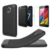 ★ Premium Imported RUGGED CARBON FIBER Silicon Back Case Cover For★ ALL MODELS ★