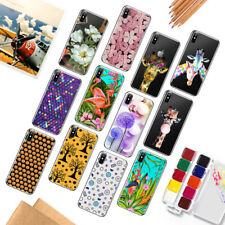 Funda Carcasa Slim TPU Pattern Protector Case Cover Fit iPhone 5 5s SE 6s 7 Plus