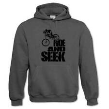Ride And Seek Downhill MTB Mountain Bike Freeride Cycling Bicycle Men's Hoodie