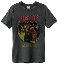 Amplified ACDC HIGHWAY TO CLARO CAMISETA T-SHIRT Carbón Hombre Talla S-XXL