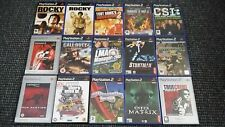 Playstation 2/PS2 Games Make Your Own Bundle/Joblot Tested And Complete (18)