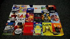 Playstation 2/PS2 Replacement Instruction Manuals Only No Game Or Box