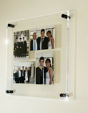 """Acrylic wall multi 4x 5 x 7"""" /7x5""""  picture photo frame all colours perspex"""