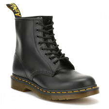 Dr. Martens 11822006  Black 1460 Smooth Leather Ankle Boots