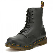 Dr. Martens Womens Black Pascal Virginia Leather Boots