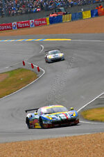 Ferrari 458 Italia at The 24 Hours of Le Mans 2015 photo picture poster print