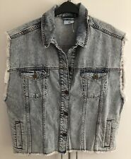 Urban Outfitters Light Blue Denim BDG Sleeveless Jacket Gilet UK M/L BDG RRP £49