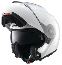 NUEVO Schuberth C3 PRO BLANCO ABATIBLE MODULAR Quiet Casco