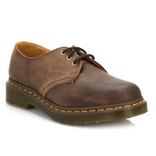 Dr. Martens 1461 Crazy Horse Gaucho Brown Leather Unisex Shoes