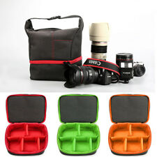 Shockproof DSLR Camera Lens Case Insert Cushion Partition Flexible Padded Bag