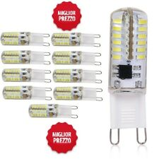 TOP LOTTO LAMPADA LED G9 110-240V DC 12V 3W 5W 7W WATT LUCE CALDA FREDDA