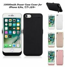 External 10000mAh Battery Charger Cover Power Case For Apple iPhone 6/6S, 7 & 8