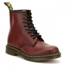 Dr. Martens 1460 Cherry Red Smooth Leather Ankle Boots