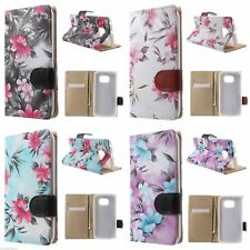 """Cute Folio Wallet stand Leather Case Flip Cover For Samsung Galaxy S6 edge 5.1"""""""