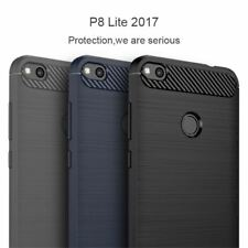 Luxury Soft Carbon Silicon Cases for Huawei P8 P9 P10 lite Case for Huawei Honor