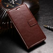 Honor 8 Case Leather Dirt Resistant PU Silicon Cover Phone Bag Cases for Huawei