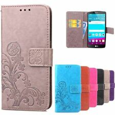 Case for LG G4 LGG4 Leather Wallet Flip Case Printing Back Cover For LG G4 H815