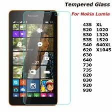 2.5D 9H Tempered Glass For Nokia Lumia 435 520 530 535 630 640 640XL 730 820 950