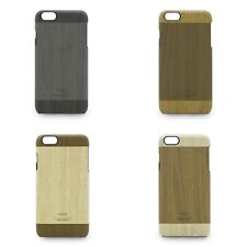 KAJSA Wood Pattern Leather Coated Hard Back Cover for iPhone 6s Plus / 6 Plus