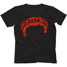 Crab Records T-Shirt 100% Cotton Reggae Derrick Morgan Pama Trojan
