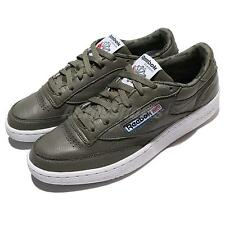 Reebok Club C 85 SO Hunter Green White Leather Men Shoes Sneakers Trainer BS5211