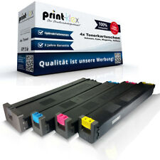 4 Compatible Cartuchos de tinta para Sharp MX51 Repuesto Color xl-drucker Pro