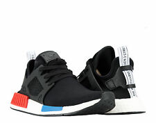 Adidas NMD_XR1 PK Primeknit OG Black/White/Red/Blue Men's Running Shoes BY1