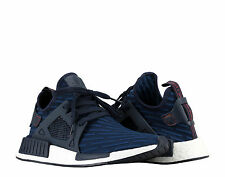 Adidas NMD_XR1 PK Primeknit Collegiate Navy/Core Red Men's Running Shoes BA