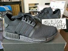 Adidas NMD R1 PK Primeknit Runner Nomad Boost Japan Triple Black Core BZ022